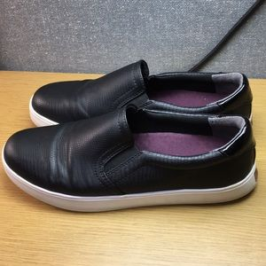 Dr Scholl's Leather Sneaker